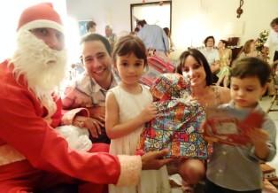 Jerome as a Santa Claus - Floripa