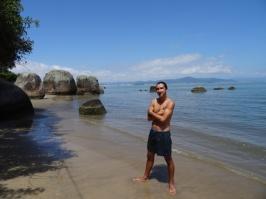 Our private beach - Floripa