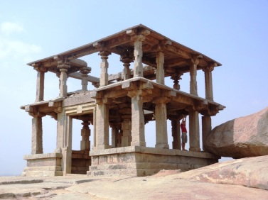 Where is Jérome in Hampi ?