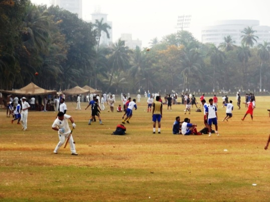 Cricket time - Mumbay