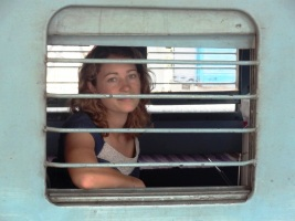 Elise in the train