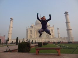 Elise & Taj Mahal