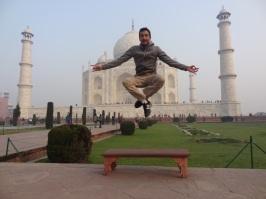Jérôme & Taj Mahal