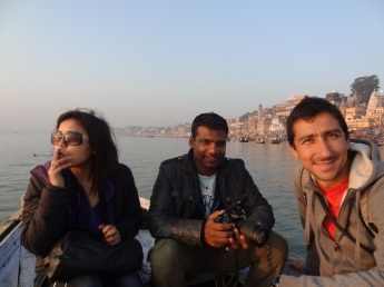 Indian friends - Varanasi