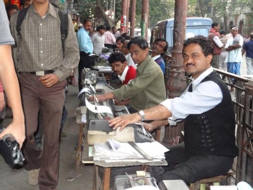 Centre de dactylographie – Calcutta
