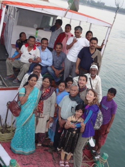 Our nice group - Sunderbans