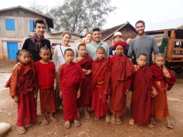 Novice monks - Treck Hsipaw