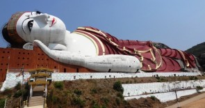 Tallest lying Buddha in the world ? - Mudon