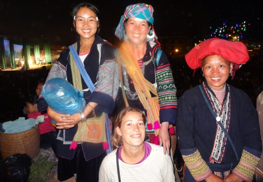 Ethnic minorities women - Sapa