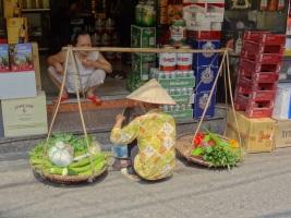 Street seller - Hanoi