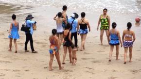 Swimsuit show