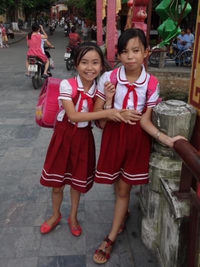 School girls - Hoï An