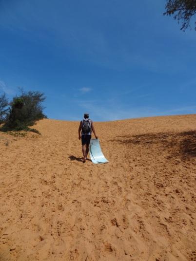 Red dunes - Mui Ne