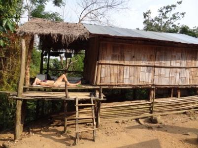 Lahu house - Chiang Raï Trek