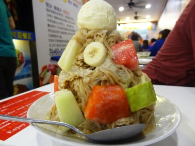 Giant ice cream - Malacca