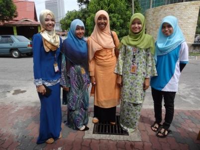Student girls - Malacca