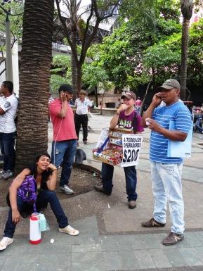Street payphone - Medellin