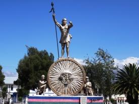 Inca warrior - Otavalo