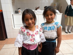 Cute girls - Otavalo