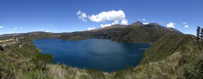 Cuicocha lake - Otavalo