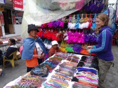 Saturday market - Otavalo