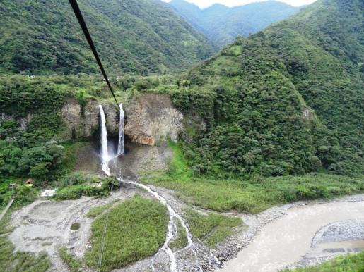 Waterfall - Baños