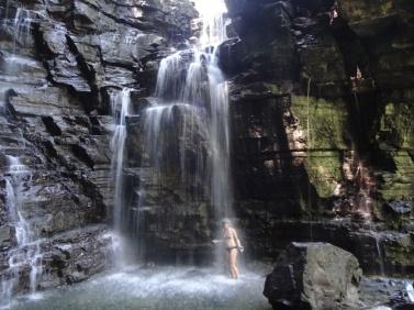 Jungle waterfall - Tena