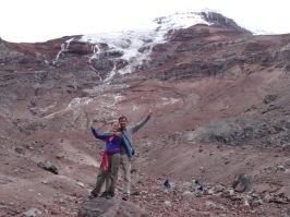 Chimborazo volcano (6310 meters)