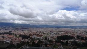 View from the mirador de Turi - Cuenca