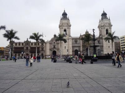 Cathedral - Plaza Mayor - Lima