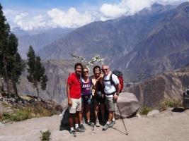 End of the trek - Colca Canyon