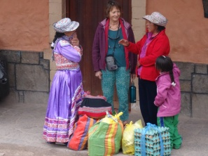 Local women - Colca Canyon