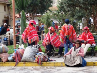 Local men - Ollantaytambo