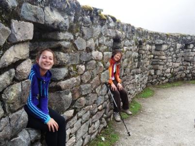 Inca ruines - Inca Trail