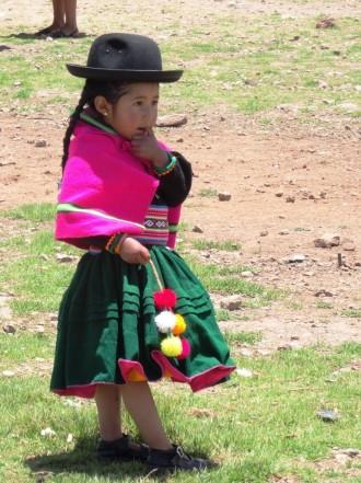 Local girl - Puno celebration