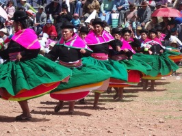Local woman - Puno celebration