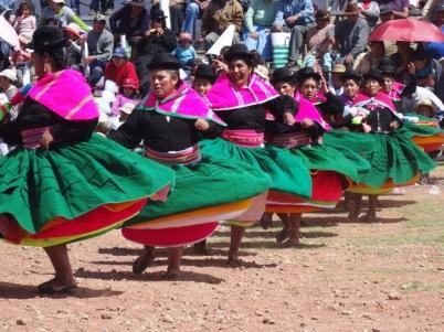 Local woman - Puno celebration
