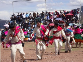 Local men - Puno celebration