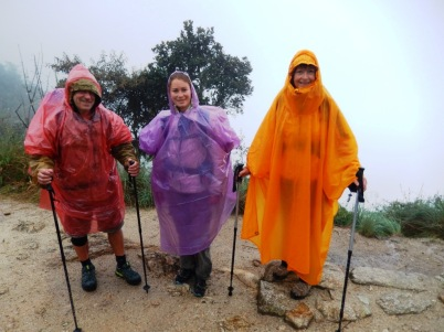 Under the rain - Inca Trail