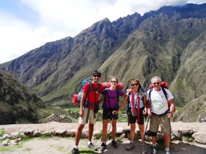 Inca ruines - Inka Trail