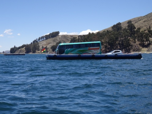 Floating bus - Titicaca lake