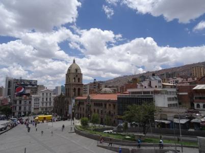 Plaza San Fransisco - La Paz
