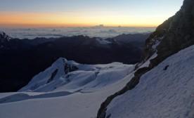 Sunrise - Huayna Potosi trekking