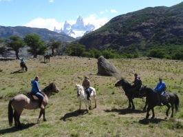 Horseriding - El Chalten