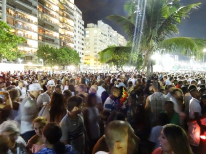 Neaw year 2014 - Copacabana